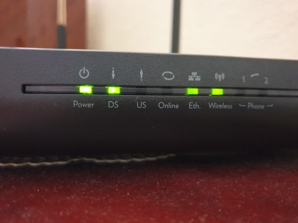 Router upc connect box
