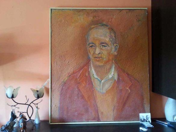 картина стар акварел