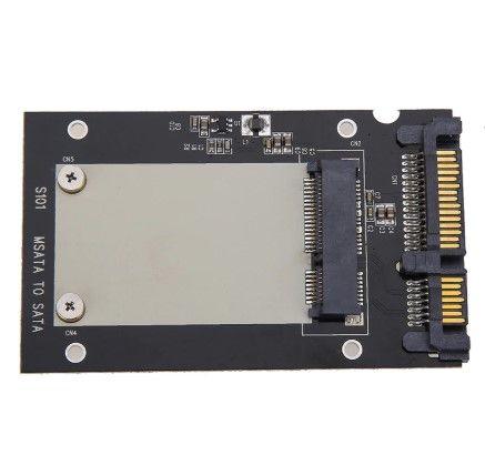 "Адаптер mSATA SSD към 2.5"" SATA + Гаранция"