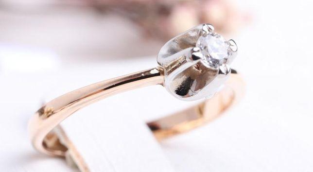 0% Кольцо с камнем, золото 585 Россия, вес 2.25 г. «Ломбард Белый»