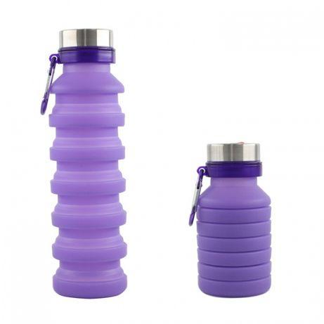 Силиконовые бутылочки для воды
