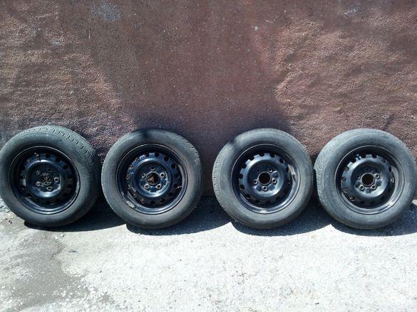 Продавам джанти с летни гуми 14 цола за Мазда Премаси