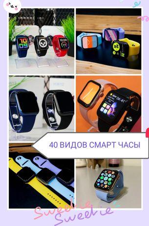 Смарт часы apple Watch 4 5 6 M16 PLUS w26+ hw12 M26plus фитнес браслет