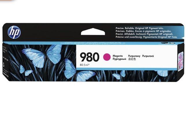 HP 980 (D8J08A) - Cartuș, Magenta (Purpuriu)