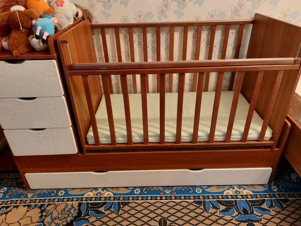 Детская кровать большая