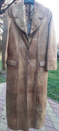 Palton piele pentru dama