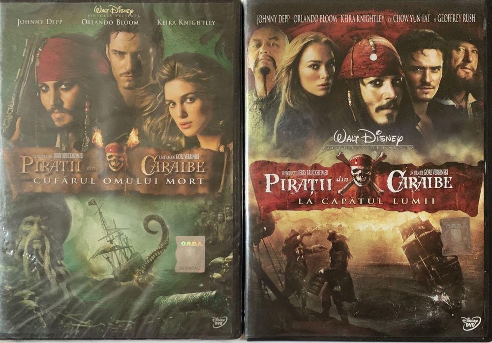 """2 Filme (DVD-uri) ,,Pirații din Caraibe 2 și 3"""" Bucuresti - imagine 1"""