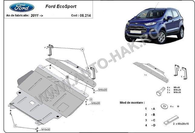 Scut motor metalic Ford Ecosport 2011-2017