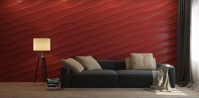 Гипсовая лепка лепной декор Колонна 3д 3D панель кирпич гипс