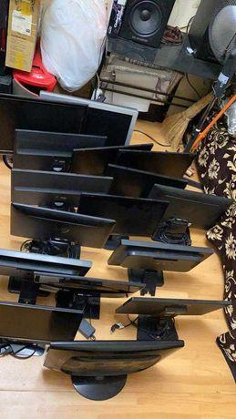 Мониторы для видеонаблюдения. Настольные и настенные, с креплением