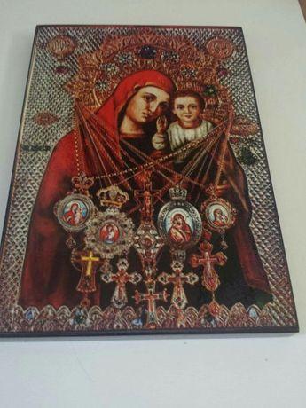 "Vand icoana litografiata Maica Domnului ""Plangatoarea"""