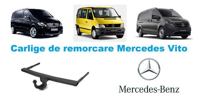 Carlige de remorcare omologate RAR Mercedes Vito - 5 ani garantie