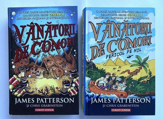 Vanatorii de comori. Vol. 1 si 2 de James Patterson Chris Grabenstein