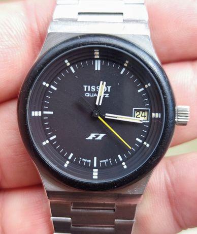 Ретро часовник радък Tissot F1 quartz 2031