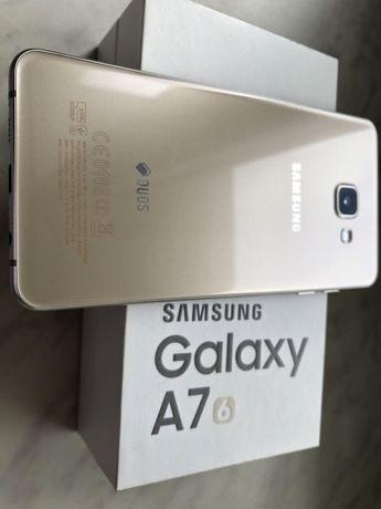 Срочно продам Samsung A7 , 2016г Gold!!