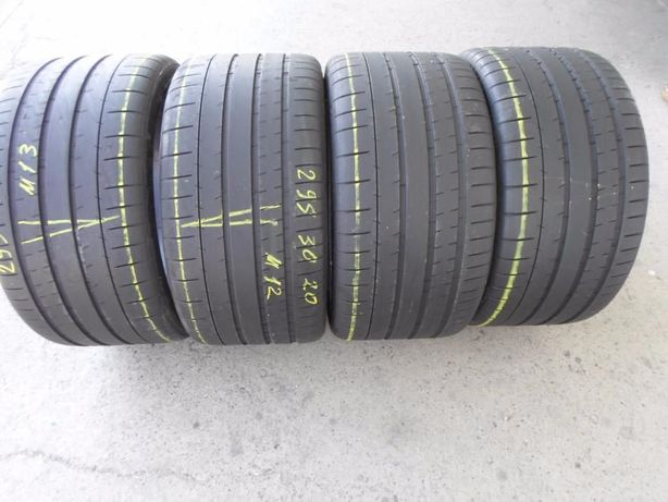 4 anvelope vara 295 30 20 michelin  profil 6,5 mm