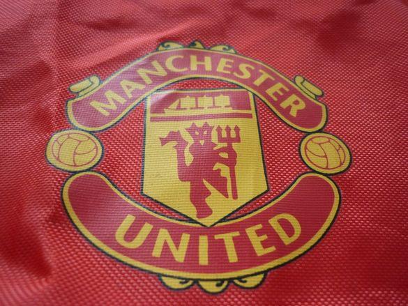 Текстилна спортна раница мешка Manchester United ФК Манчестър Юнайтед