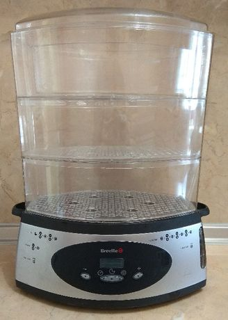 Breville , дигитален уред за готвене на пара , 3 х 3 л.
