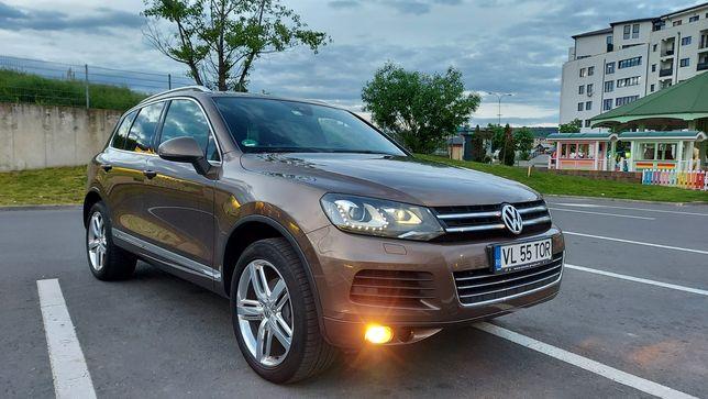 VW Touareg 245HP 145000km LED Distronic piele Webasto keylessgo carlig