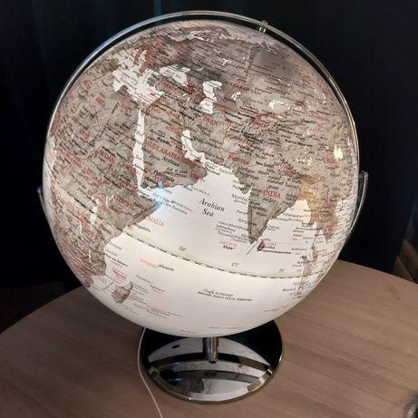 Глобус рельерфные Италия с подсветкой, подарок для мужчин