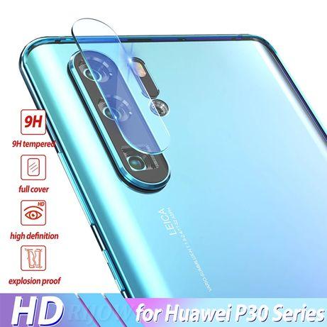 Стъклен протектор камера Huawei P30 Pro P40 Lite P Smart 2021 Mate