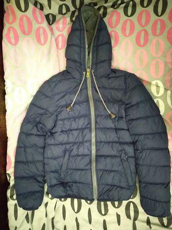 Мъжко двулицево зимно яке