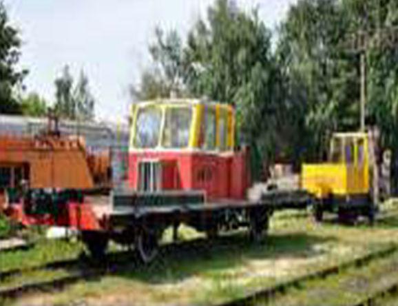 Дрезина железнодорожная АГМУ с двигателем МТЗ дизель