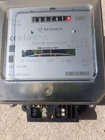 Contor electric monofazat