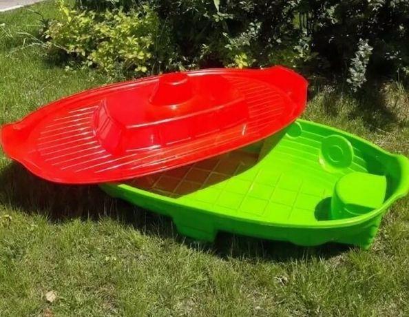 Песочница-кораблик, бассейн детский