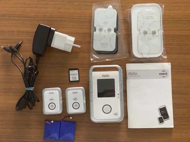 OSIM iGoGo MP3 Player si aparat de Masaj wireless