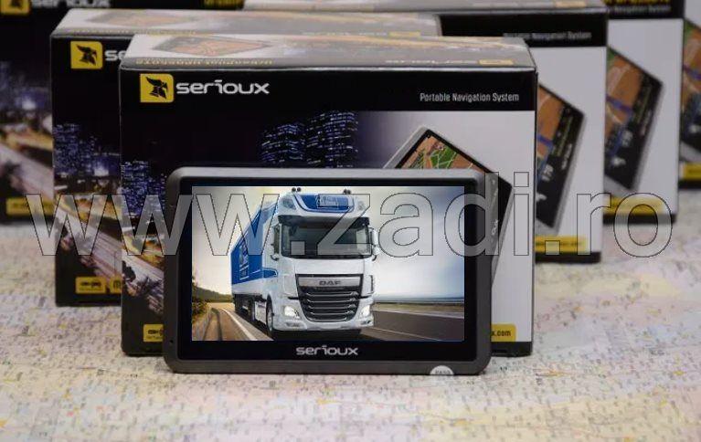 Gps serioux model upq430- harti noi- adr-soft camion si auto cu harti Bistrita - imagine 1