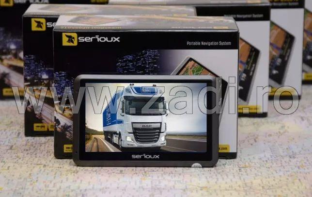 Gps serioux model upq430- harti noi- adr-soft camion si auto cu harti