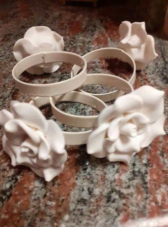 Комплект от 4 пръстена за салфетки