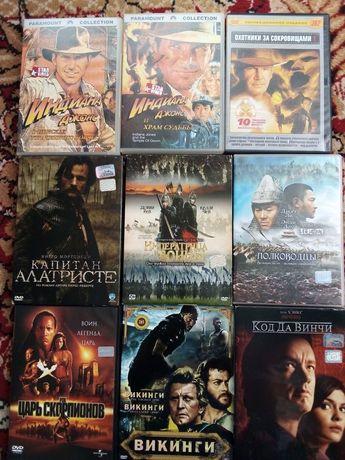 Продам диски с фильмами DVD