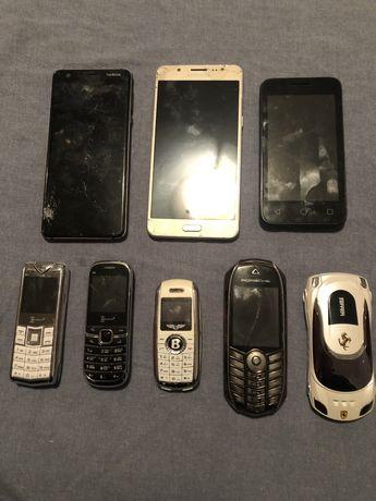 Vand sau schimb 8 telefoane Bentley, Porsche, Nokia, Samsung