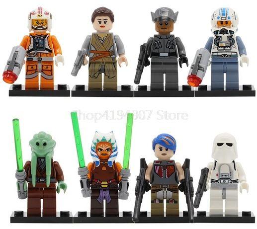 Minifigurine tip Lego Star Wars cu Kit Fisto