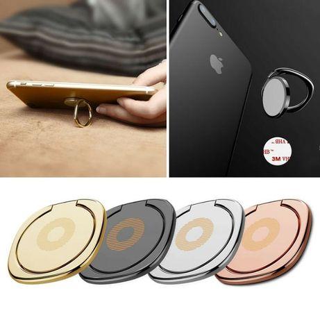 Inel metalic prindere prin deget / suport pentru telefonul mobil