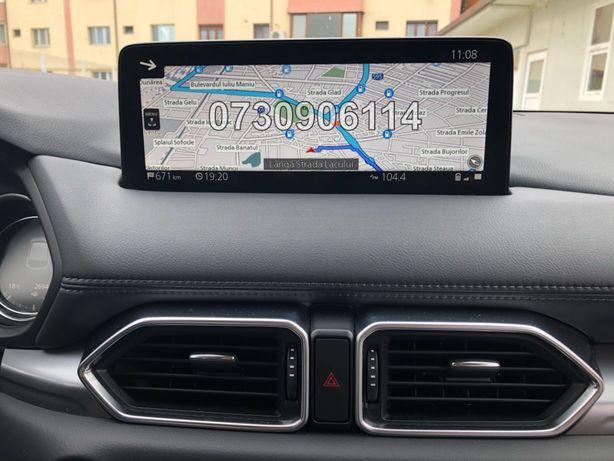 Card ORIGINAL Mazda Connect CX5 MX30 CX3 Harti 2021 ecran 10.25