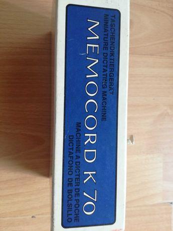 Ретро диктофон Memocord k70