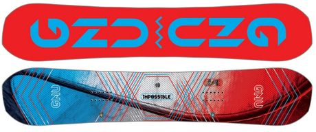 Продам сноуборд GNU Impossible Eco