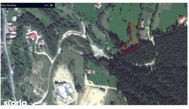 Teren intravilan arabil - 5.346 m², Sat. Poarta - Bran