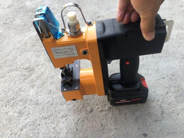 Кап тыгетын Мешкосшивательная машина с батарейкой