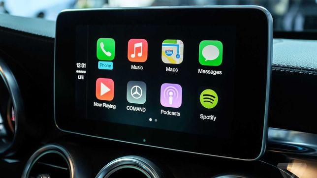 Apple Carplay Mercedes-Benz A B CLA CLS GLA GLE GLS Android Auto Waze