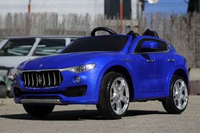 Masinuta electrica pentru copii Maserati Levante PREMIUM #Albastru