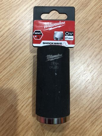 MILWAUKEE 2858 tubulara 27 mm de 1/2 cr-molibden, NOUA
