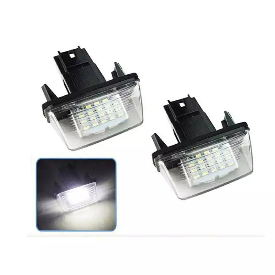Set lampi numar led Peugeot 206/207/306/307/406/407 Citroen C3 C4 C5