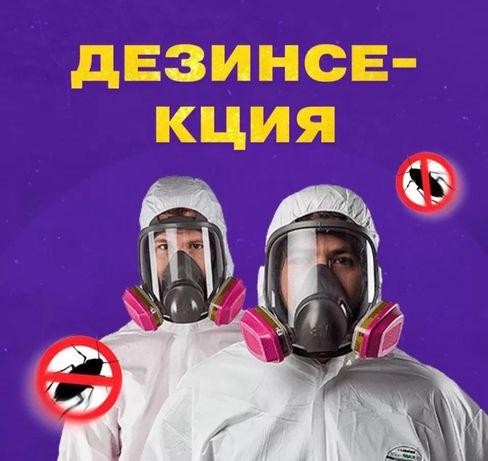 Дезинсекция в Алматы! Мы Работаем на РЕЗУЛЬТАТ! По Регламенту СЭС!