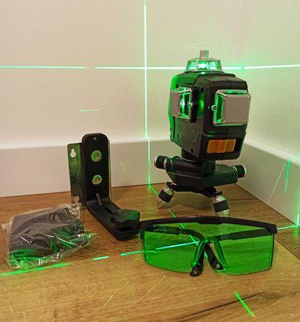 Лазерный уровень 3d Deko зеленый луч с магнитным кронштейном, Hilda