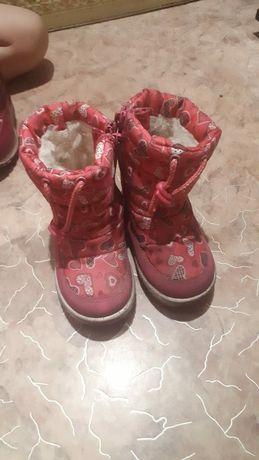 Детские зимние обуви
