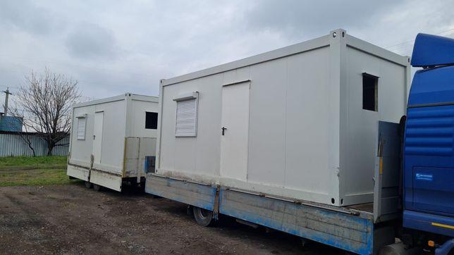 Containere modulare din structura metalica